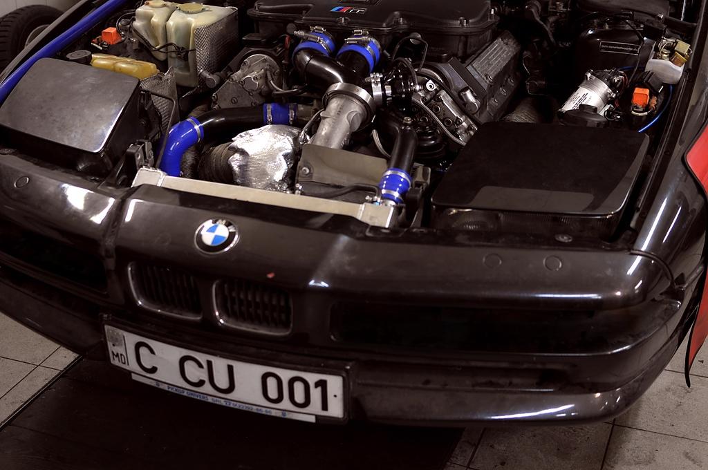 New FI S62: BMW 850