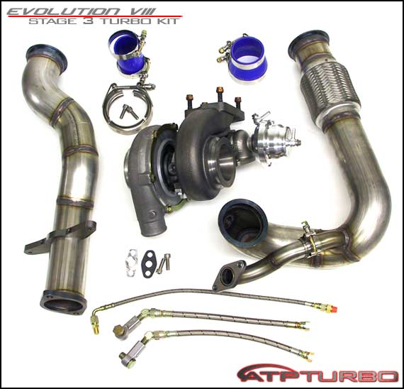 EVO8 450Hp Stage 3 Turbo Kit GT3071R